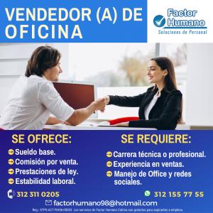 VENDEDOR (A) DE OFICINA